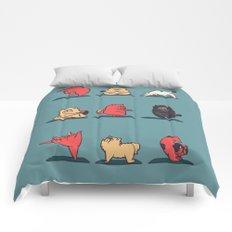Cat Yoga Comforters