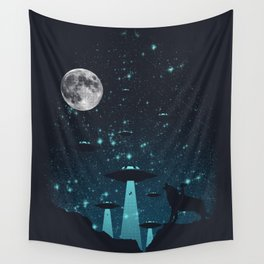 Contact Wall Tapestry