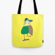 Skateboarding Owl. Tote Bag