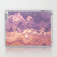 Gold violet pattern Laptop & iPad Skin