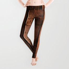 Natural Wood Boards Leggings