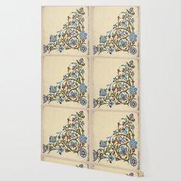 Blue bell tile Wallpaper
