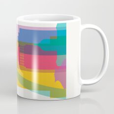 Shapes of St. Louis. Accurate to scale Mug
