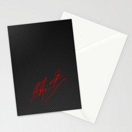 Michael Schumacher signature Stationery Cards