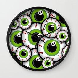 Eyeballs Wall Clock