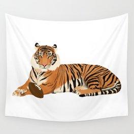 Football Tiger Wall Tapestry