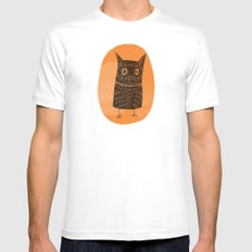 This is my owl Mens Fitted Tee White MEDIUM