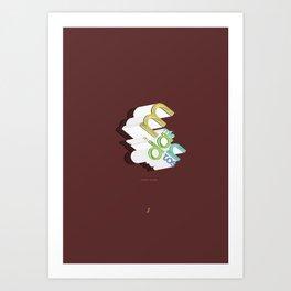 Mandamientos Art Print