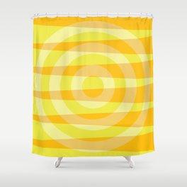 Sun shades levitate rings Shower Curtain