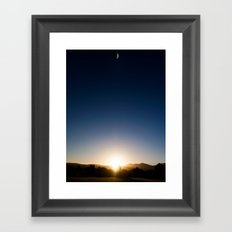Day n Nite Framed Art Print