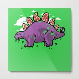 Steakosaurus Metal Print
