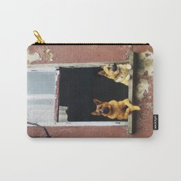 dog's voyeur Carry-All Pouch