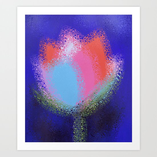 Floral Charm Art Print