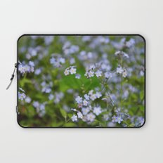Forget-me-not Close up Laptop Sleeve