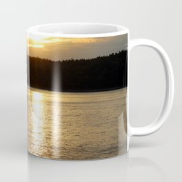 Sunset at Concord's Walden Pond 9 Coffee Mug