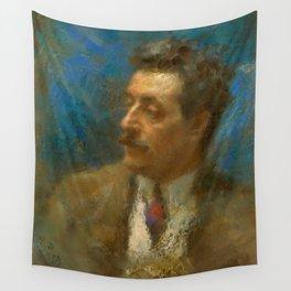 Giacomo Puccini (1858 – 1924) by Arturo Rietti in 1906 Wall Tapestry