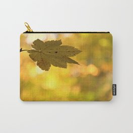 Twinkling Leaf Lights Carry-All Pouch