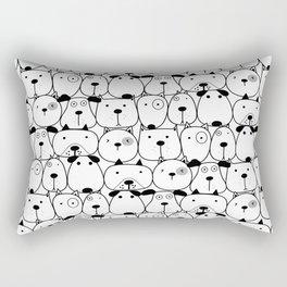 Cute Dogs Rectangular Pillow
