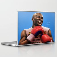 floyd Laptop & iPad Skins featuring FLOYD 'Money' MAYWEATHER by MAiJiN.THE ARTIST