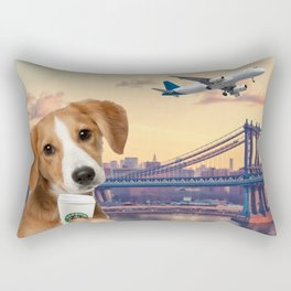 Bree in New York Rectangular Pillow