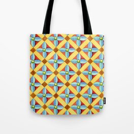 Heraldic Quatrefoil Lozenge Tote Bag
