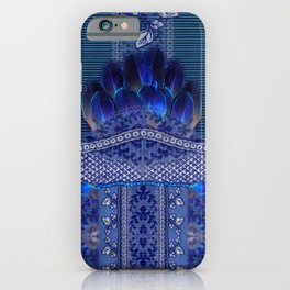 Indigo Fetish iPhone Case