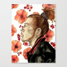 floral no. 2 Canvas Print