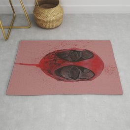 The Emptiness of Masks - Dead pool Rug