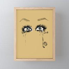 Twinkie Eyes Rosi Framed Mini Art Print