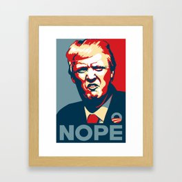 Trump Pop art Framed Art Print