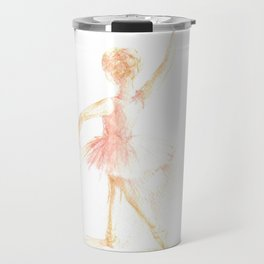 Pink ballerina Travel Mug