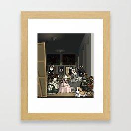 Las moominas Framed Art Print