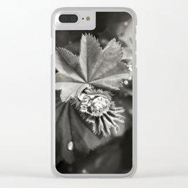 Secret Garden ~ No.11 Clear iPhone Case