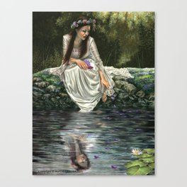 Ophelia's Lament Canvas Print