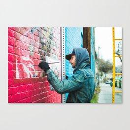 Street Artist | SXSW Canvas Print