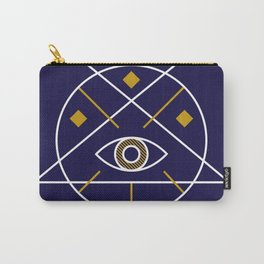 Sacred Geometry All Knowing Eye Cool Abstract Design Carry-All Pouch