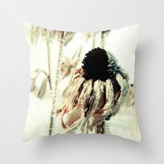 Dying Beauty Throw Pillow