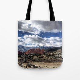 Pikes Peak in Colorado Springs Tote Bag