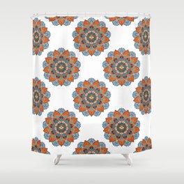 Mystic Mandala - Earth Shower Curtain