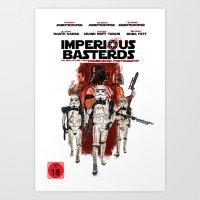 Imperious Basterds Art Print