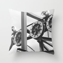 """""""The Workings of Sandia"""" Throw Pillow"""