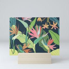 Tropical Bird of Paradise Mini Art Print