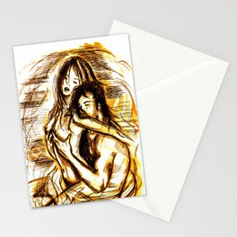 nude - passion Stationery Cards