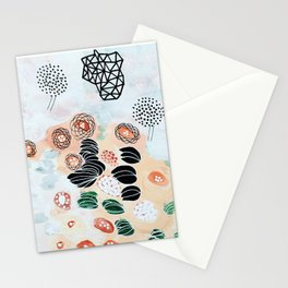 Flying trees by the pond Stationery Cards