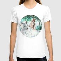 princess mononoke T-shirts featuring Princess Mononoke by VivianLohArts