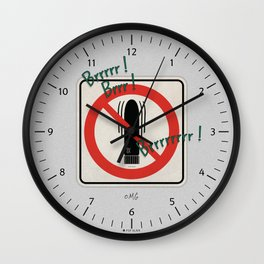 Toy Story - My Friend Dick is Not Allowed Wall Clock