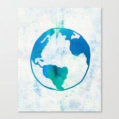 Planet Earth Canvas Print