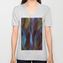 Abstract background G136 Unisex V-Neck