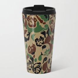 Pug Camouflage Travel Mug