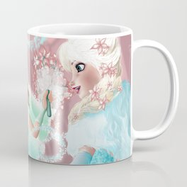 Anna and Elsa Coffee Mug